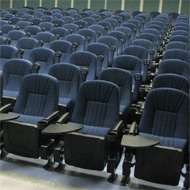 Alessandria with tablet arms lecture room seats